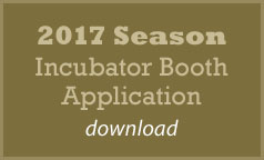 2017 Incubator Booth Application
